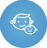 Близость родителя и малыша