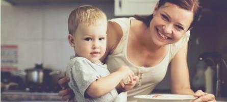Счастливая самостоятельная мама