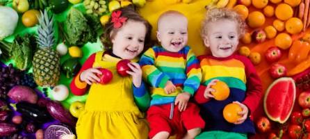 Витамины в рационе детей от 0 до 4 лет