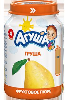 Фруктовое пюре детское Агуша Груша