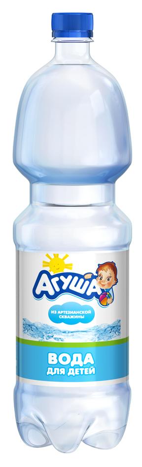 Детская вода Агуша 1,5 л, для новорожденных