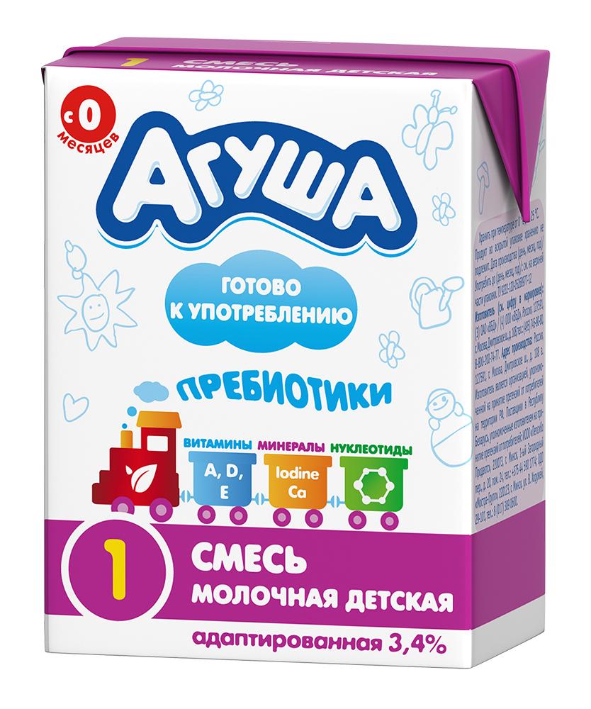 Молочная смесь Агуша 1, адаптированная