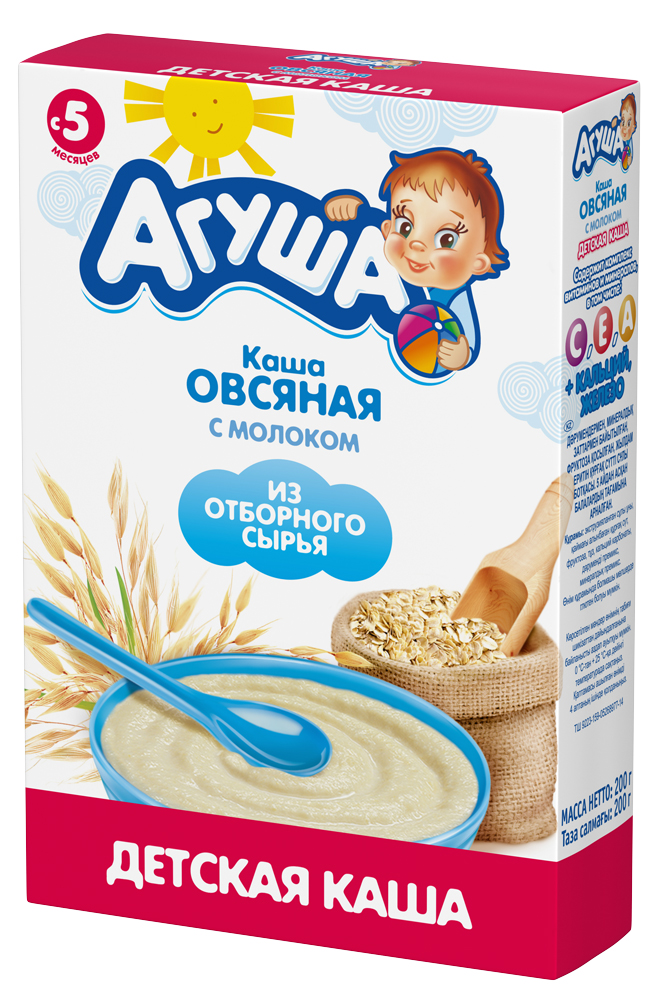 Овсяная с молоком