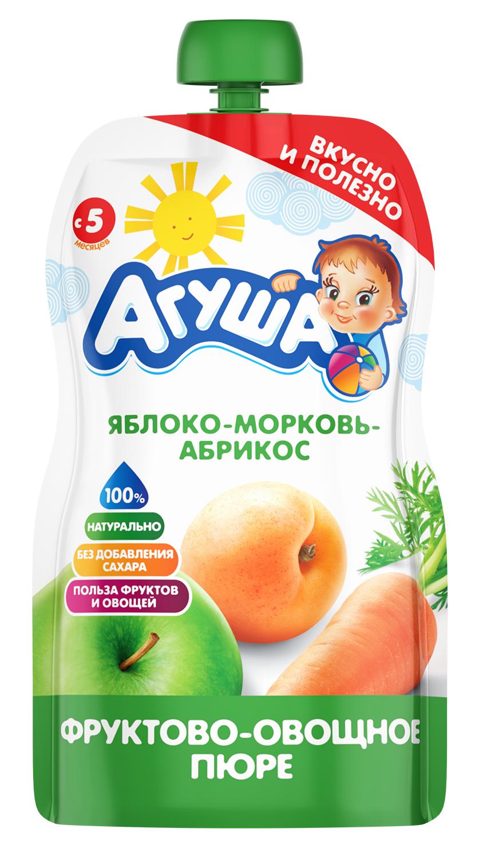 Яблоко-морковь-абрикос