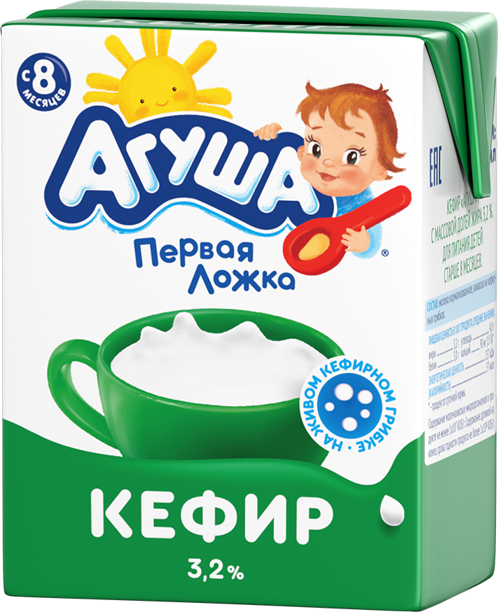 Кефир Агуша Классический, 200 мл