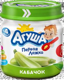 Овощное пюре Агуша Кабачок, 80 г