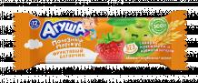 Фруктовый батончик Агуша Яблоко-клубника-злаки