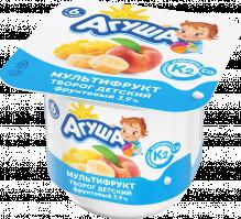 Творог фруктовый детский Агуша с натуральным витамином К2 Мультифрукт