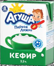 Кефир детский Агуша комфортное пищеварение Классический