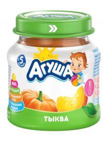 Овощное пюре Агуша Тыква, 80 г